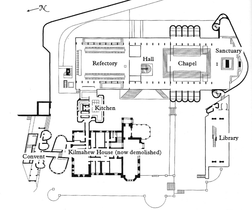Plan of St Peter's Seminary – Hole Ousia Peters House Floor Plan on mediterranean house plans, house design, house schematics, house exterior, colonial house plans, small house plans, craftsman house plans, big luxury house plans, country house plans, residential house plans, house blueprints, house layout, modern house plans, simple house plans, traditional house plans, duplex house plans, bungalow house plans, 2 story house plans, house site plan, luxury home plans,